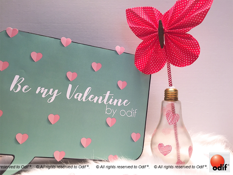 Photo : DIY - Décoration Saint Valentin
