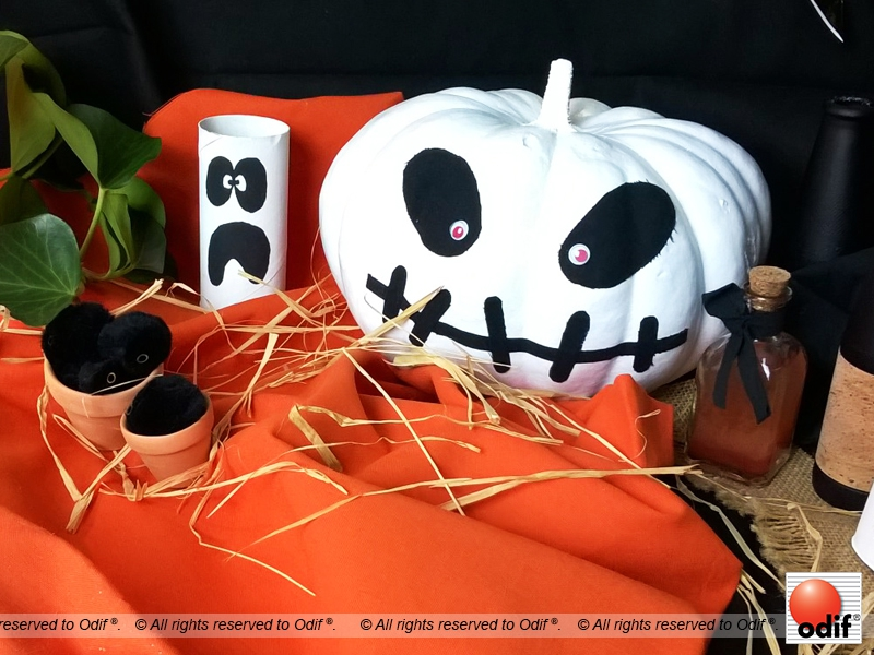Photo : DIY - Citrouille d'Halloween