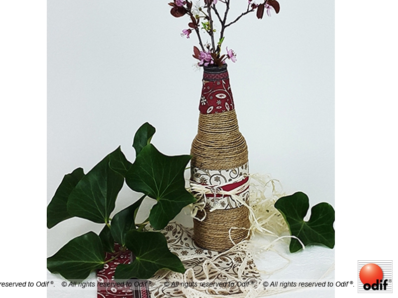 Photo : DIY - Vase bucolique éco recyclage