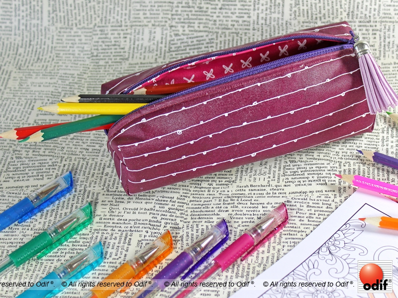 Photo : DIY - Trousse d'Ecolier Rectangulaire