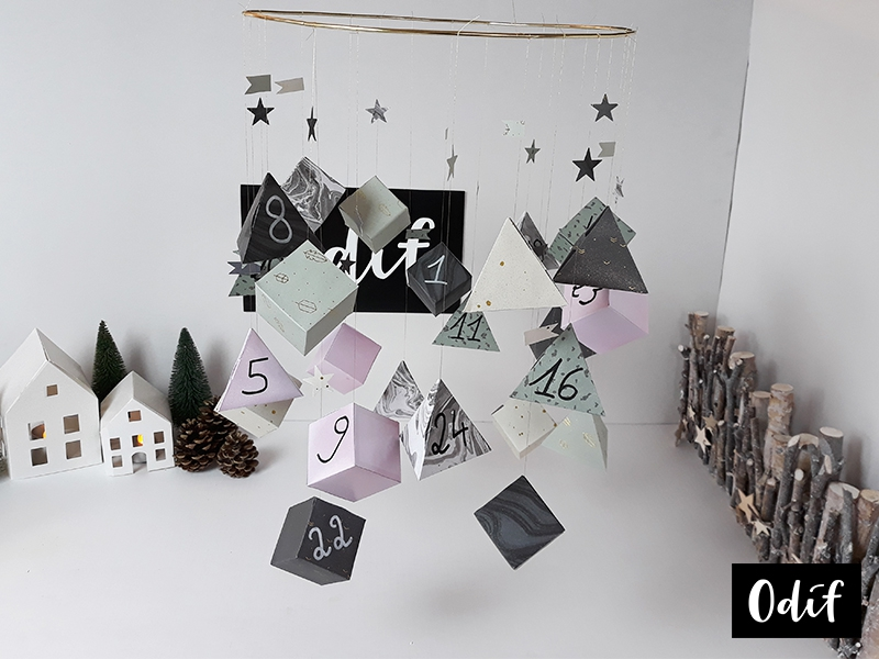 Photo : DIY - Calendrier de l'avent