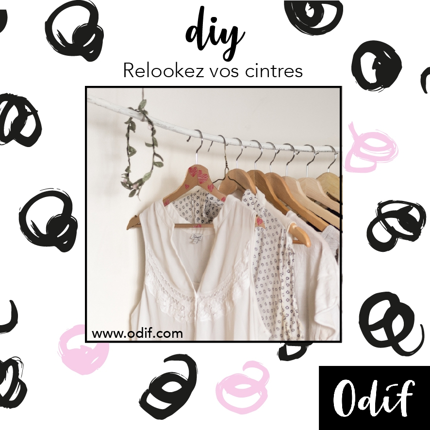 Photo : DIY - Relookez vos cintres