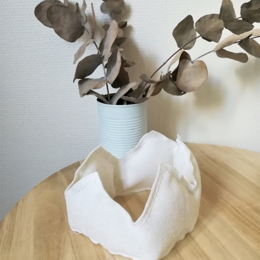 Photo : DIY - Une couronne pailletée